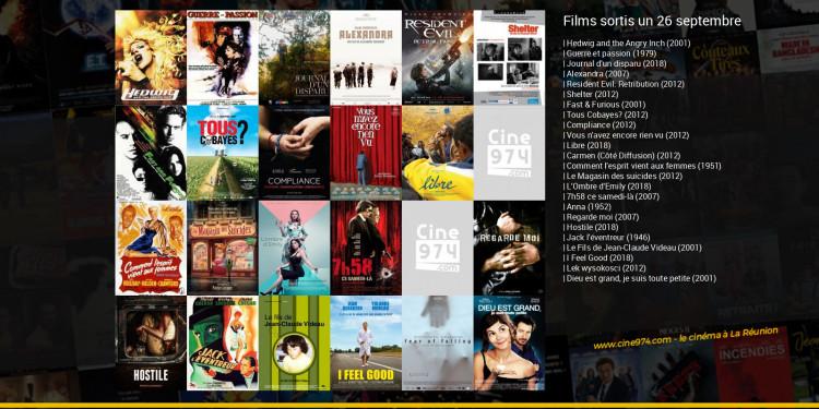 Films sortis un 26 septembre