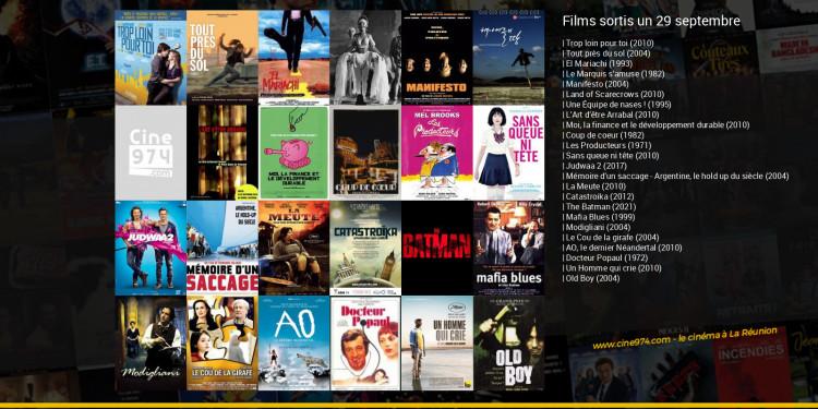 Films sortis un 29 septembre