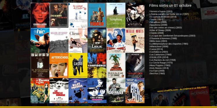 Films sortis un 01 octobre