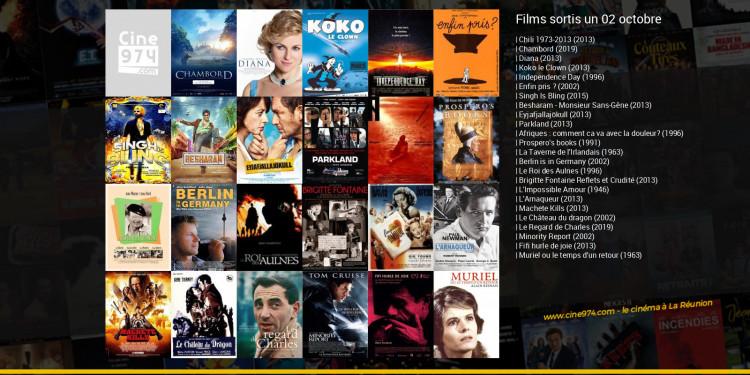 Films sortis un 02 octobre
