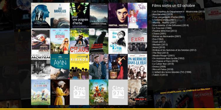 Films sortis un 03 octobre