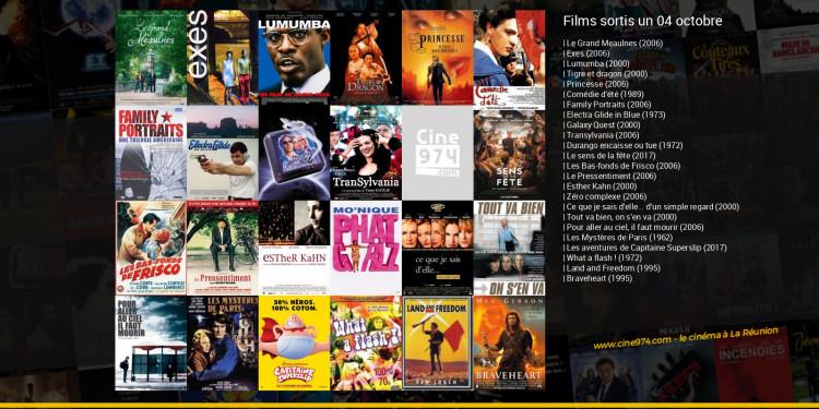 Films sortis un 04 octobre
