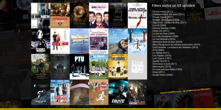 Films sortis un 05 octobre