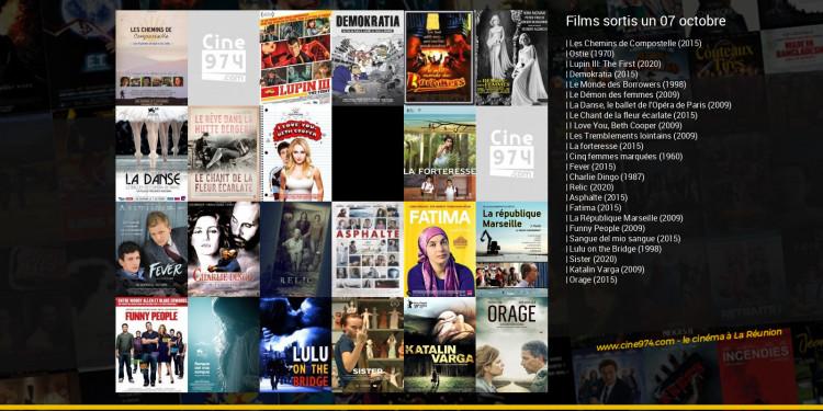Films sortis un 07 octobre