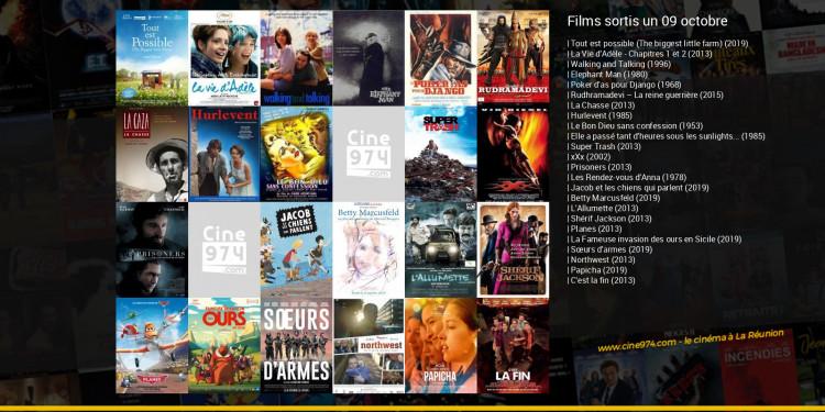 Films sortis un 09 octobre