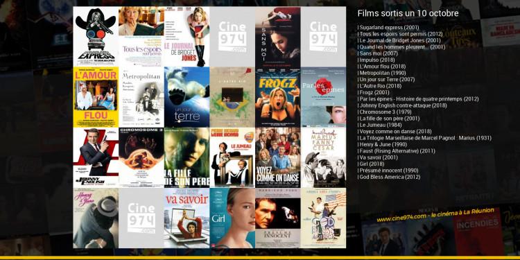 Films sortis un 10 octobre