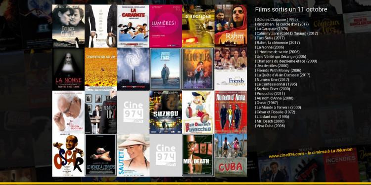 Films sortis un 11 octobre