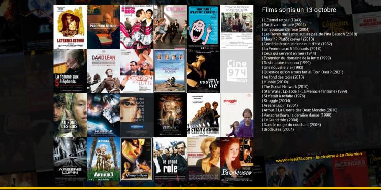 Films sortis un 13 octobre