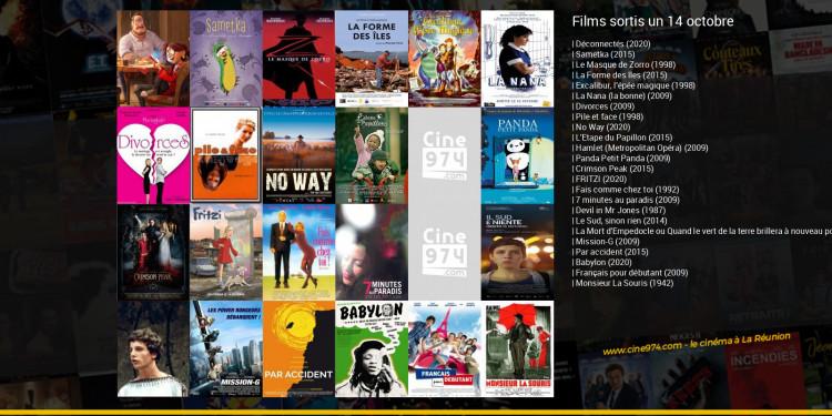 Films sortis un 14 octobre