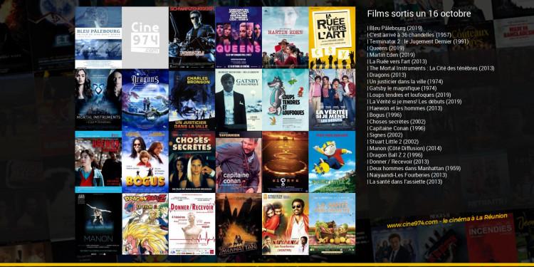 Films sortis un 16 octobre
