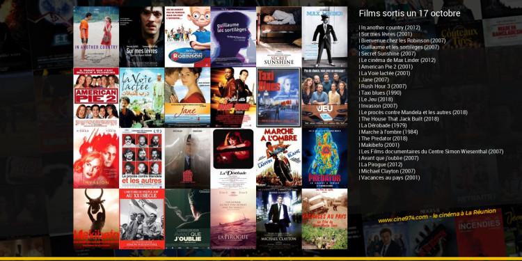 Films sortis un 17 octobre