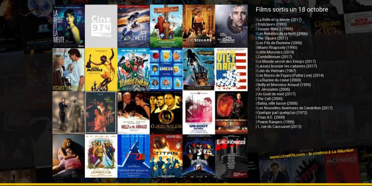 Films sortis un 18 octobre