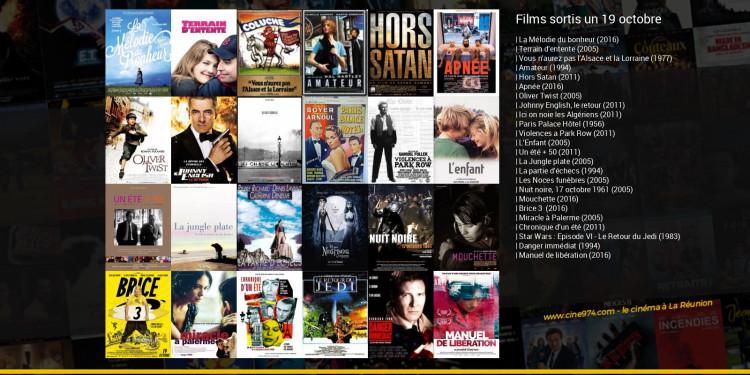 Films sortis un 19 octobre