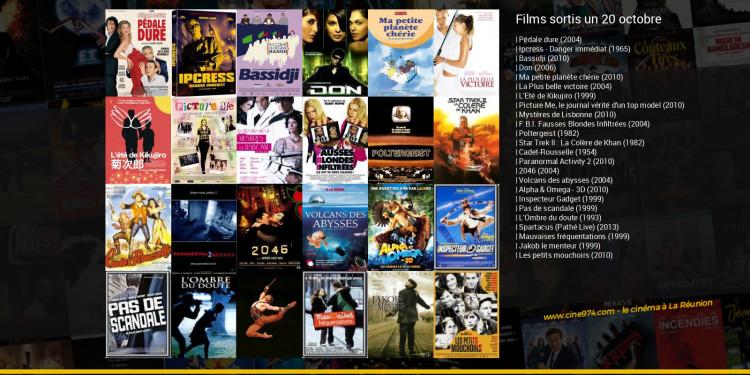 Films sortis un 20 octobre