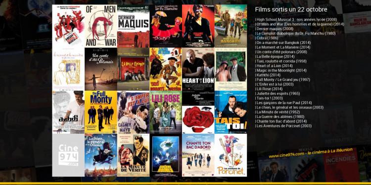 Films sortis un 22 octobre