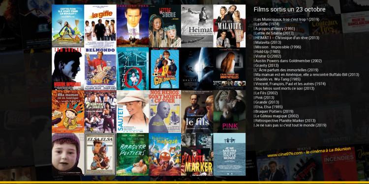 Films sortis un 23 octobre