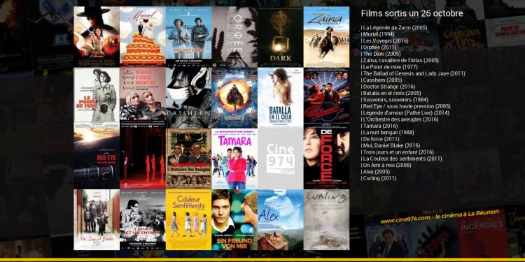Films sortis un 26 octobre