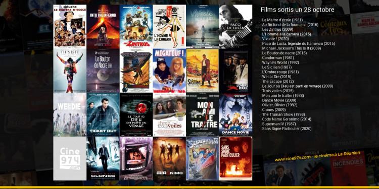 Films sortis un 28 octobre