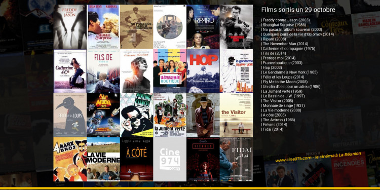 Films sortis un 29 octobre