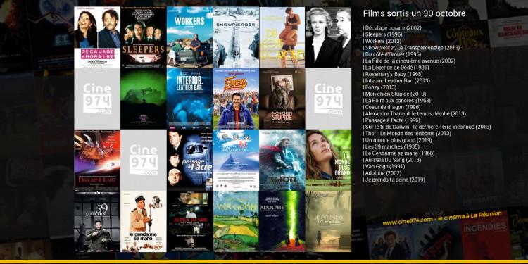 Films sortis un 30 octobre