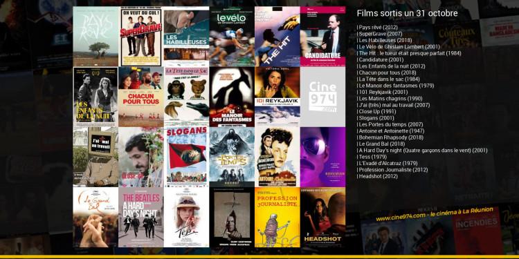 Films sortis un 31 octobre
