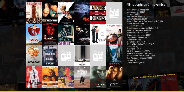 Films sortis un 01 novembre