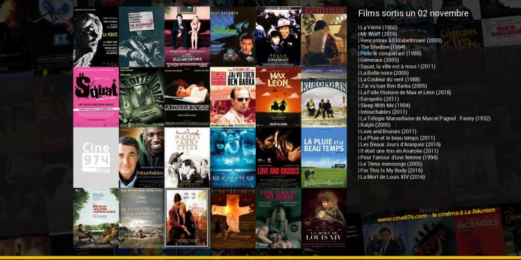 Films sortis un 02 novembre