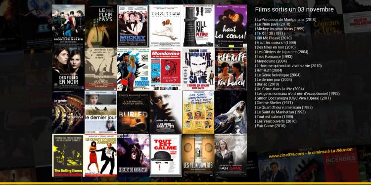 Films sortis un 03 novembre