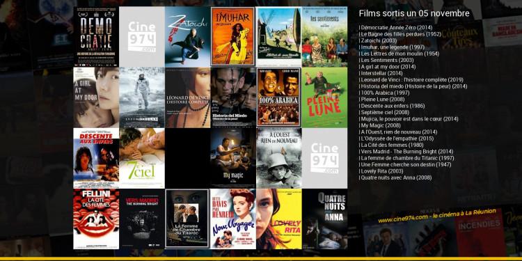 Films sortis un 05 novembre