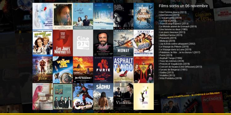 Films sortis un 06 novembre