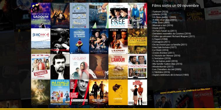 Films sortis un 09 novembre