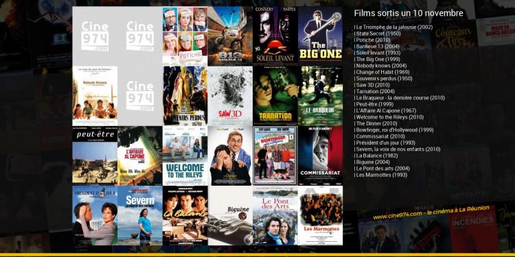 Films sortis un 10 novembre