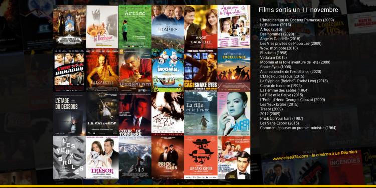 Films sortis un 11 novembre