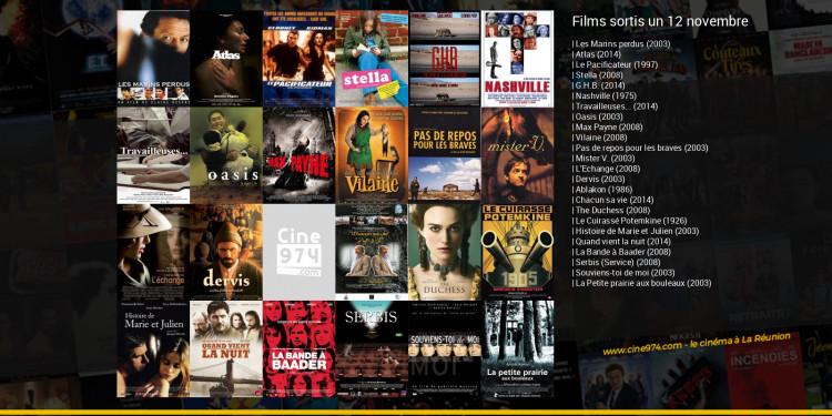Films sortis un 12 novembre