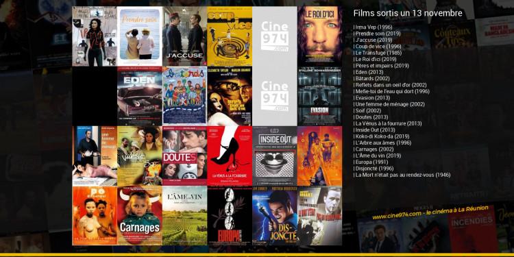 Films sortis un 13 novembre