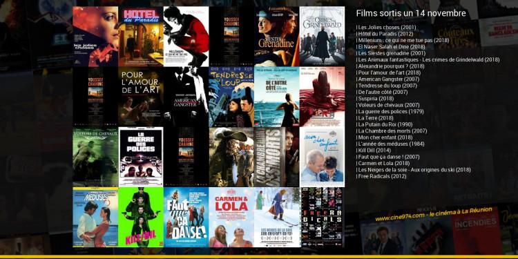 Films sortis un 14 novembre