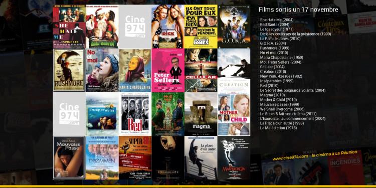 Films sortis un 17 novembre