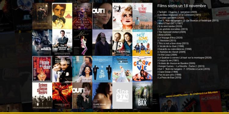 Films sortis un 18 novembre