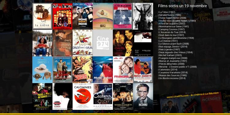 Films sortis un 19 novembre
