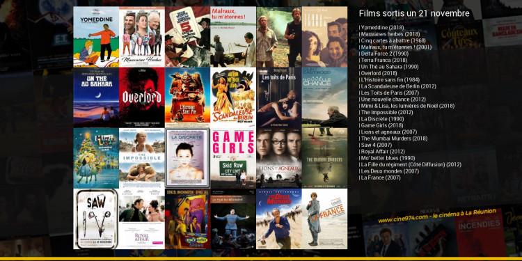 Films sortis un 21 novembre