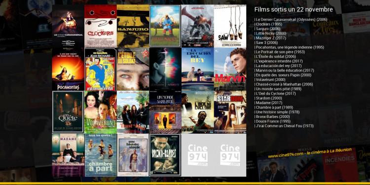 Films sortis un 22 novembre