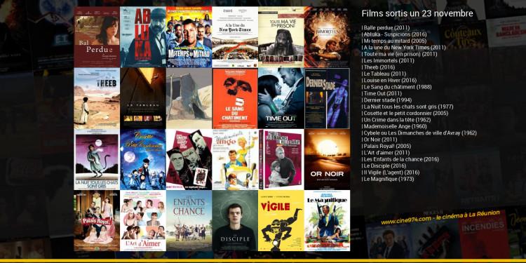 Films sortis un 23 novembre