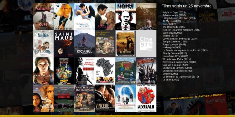 Films sortis un 25 novembre