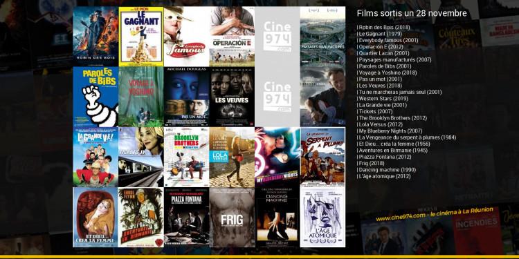 Films sortis un 28 novembre
