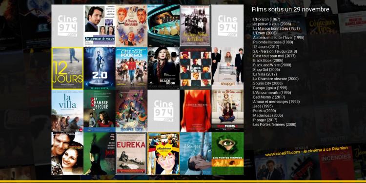 Films sortis un 29 novembre