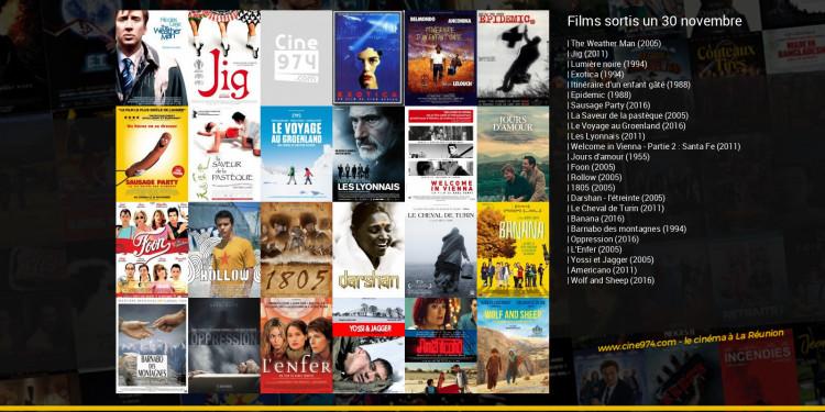 Films sortis un 30 novembre