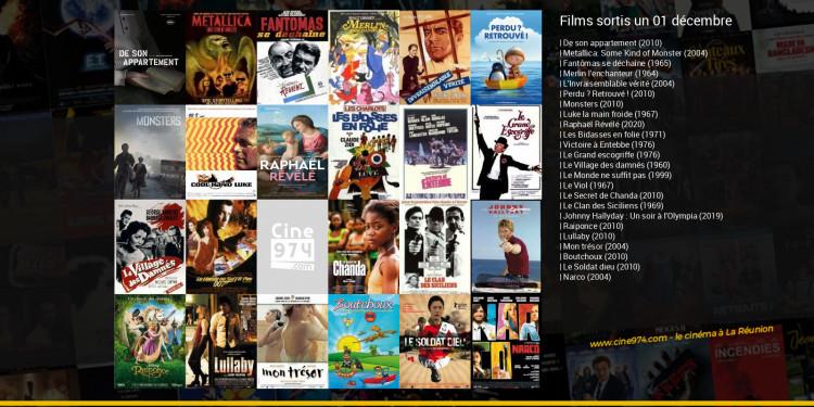 Films sortis un 01 décembre