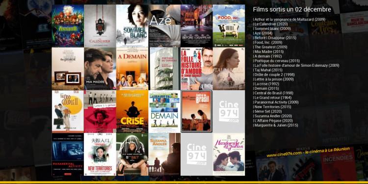 Films sortis un 02 décembre