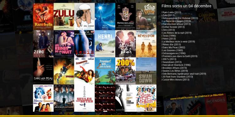 Films sortis un 04 décembre