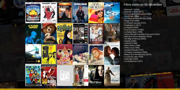 Films sortis un 06 décembre